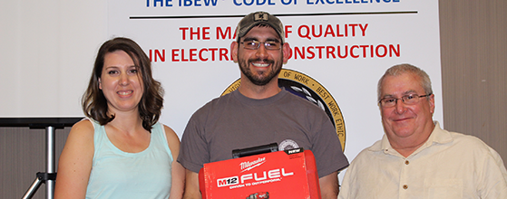 P1 Group Electrical Apprentice Wins Top Honors