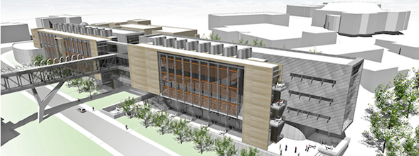 P1 Group awarded MEP work at KU's Earth, Energy & Environment Center