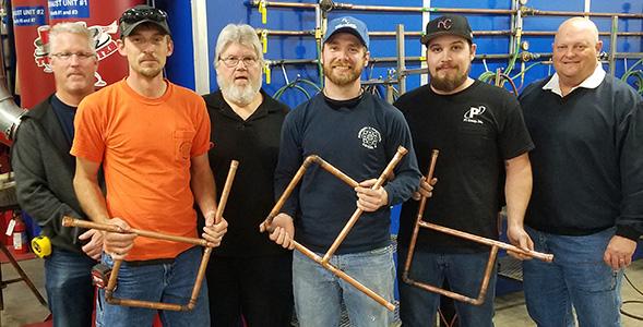 P1 apprentice wins Missouri plumbing competition